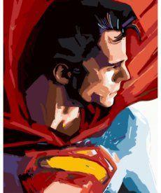 Картина по номерам Супермен 40 х 50 см (BK-GX8733)