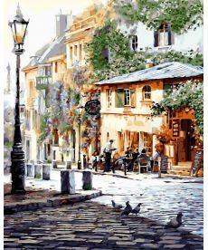 Картина по номерам Италия. Летнее кафе 40 х 50 см (BK-GX8875)