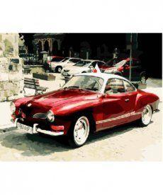 Картина по номерам Ретро авто 40 х 50 см (BK-GX8909)