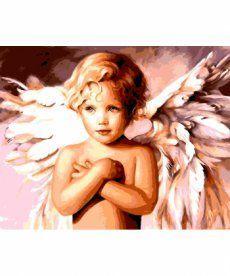 Картина по номерам Милый ангел 40 х 50 см (BK-GX8940)