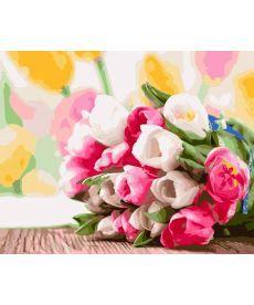 Картина по номерам Букет тюльпанов 40 х 50 см (BK-GX9193)