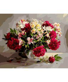 Картина по номерам Цветочное великолепие 40 х 50 см (BK-GX9794)