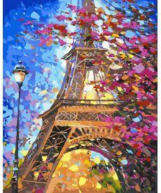Картина по номерам Краски весеннего Парижа 40 х 50 см (BK-GX9886)