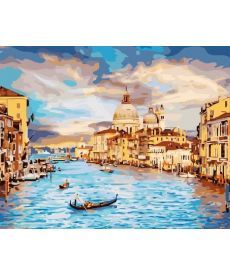 Картина по номерам Очарование Венеции 40 х 50 см (BRM22296)
