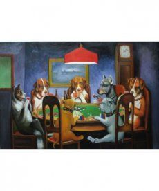 Картина по номерам Покер 40 х 50 см (BRM4026)