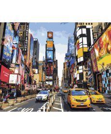 Картина по номерам Жизнь Таймс-сквер 40 х 50 см (BRM5377)