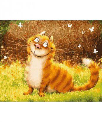 Картина по номерам Чеширская улыбка 40 х 50 см (BRM5587)  - Фото 1