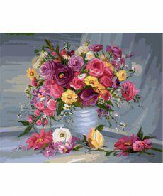 Картина по номерам Букет для любимой 40 х 50 см (BRM7086)