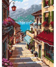 Картина по номерам Поселок Белладжио 40 х 50 см (BRM7248)
