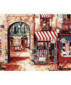 Картина по номерам Старинная улочка 40 х 50 см (BRM7254)