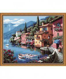 Картина по номерам Итальянская набережная  40 х 50 см (KH103)