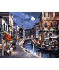 Картина по номерам Улицы Венеции 40 х 50 см (KH1129)