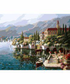 Картина по номерам Отражение Веренны 40 х 50 см (KH1145)