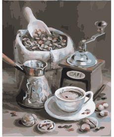 Картина по номерам Аромат кофе 40 х 50 см (KH2047)