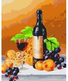 Картина по номерам Аромат вина 40 х 50 см (KH2066)