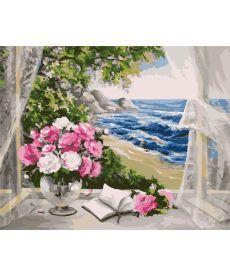 Картина по номерам Букет у моря 40 х 50 см (KH2072)