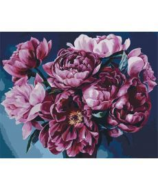 Картина по номерам Королевский букет 40 х 50 см (KH2082)