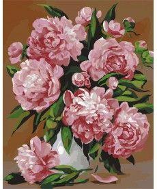 Картина по номерам Красота пионов 40 х 50 см (KH2087)