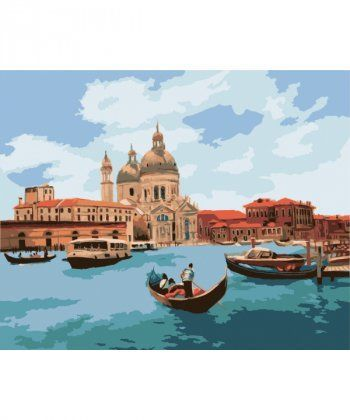 Картина по номерам Полдень в Венеции 40 х 50 см (KH2118)