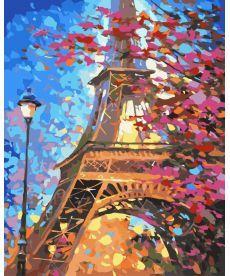 Картина по номерам Краски весеннего Парижа 40 х 50 см (KH2129)