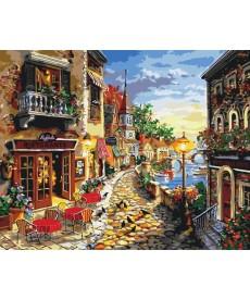 Картина по номерам Приморский бульвар 40 х 50 см (KH2132)