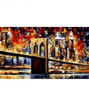 Картина по номерам Бруклинский мост 40 х 50 см (KH2138)