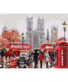 Картина по номерам Дождливый Лондон 40 х 50 см (KH2149)
