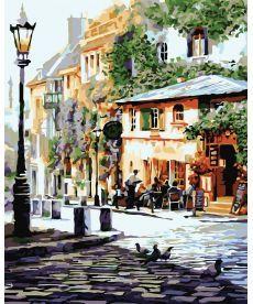 Картина по номерам Италия Летнее кафе 40 х 50 см (KH2150)