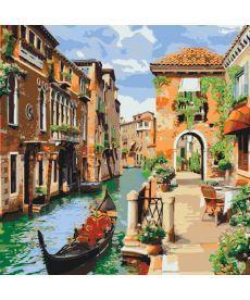 Картина по номерам Венецианское утро 40 х 40 см (KH2161)