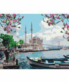 Картина по номерам Турецкое побережье 40 х 50 см (KH2166)