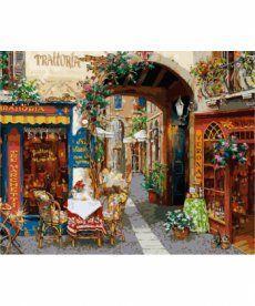 Картина по номерам Волшебный переулок 40 х 50 см (KH2173)
