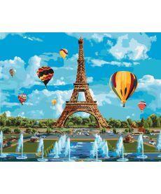 Картина по номерам Город любви 40 х 50 см (KH2179)