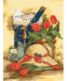 Картина по номерам Дачный натюрморт 35 х 50 см (KH2215)