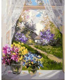 Картина по номерам Утро в деревне 40 х 50 см (KH2231)
