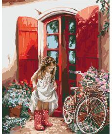 Картина по номерам Маленькая принцесса 40 х 50 см (KH2324)