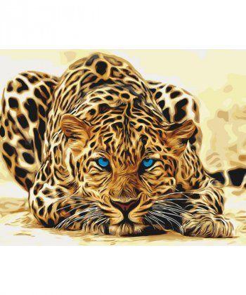 Картина по номерам Леопард 40 х 50 см (KH2450)  - Фото 1