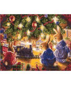 Картина по номерам Рождественские подарки 40 х 50 см (KH2452)