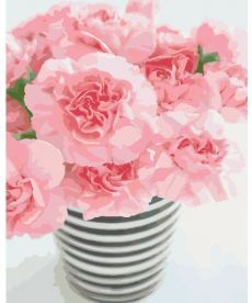 Картина по номерам Розовое чудо 40 х 50 см (KH3007)