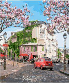 Картина по номерам Французское путешествие 40 х 50 см (KH3500)