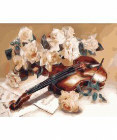 Картина по номерам Мелодия скрипки 40 х 50 см (KH5500)