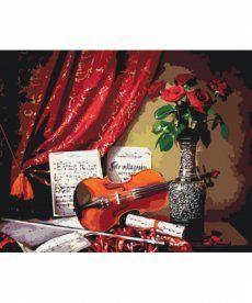 Картина по номерам Скрипичное соло 40 х 50 см (KH5513)