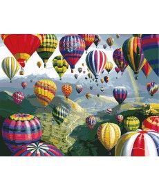Картина по номерам Разноцветные шары 40 х 50 см (KHO1056)