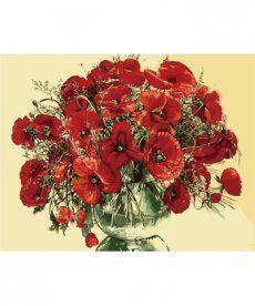 Картина по номерам Красные маки 40 х 50 см (KHO1076)