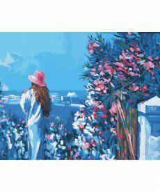 Картина по номерам Голубая даль 40 х 50 см (KHO2119)