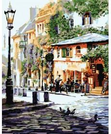 Картина по номерам Италия Летнее кафе 40 х 50 см (KHO2150)