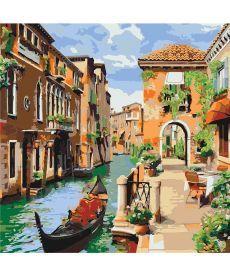 Картина по номерам Венецианское утро 40 х 40 см (KHO2161)