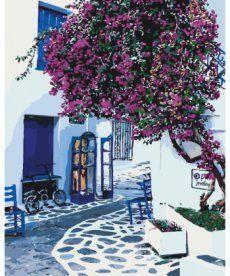 Картина по номерам Солнечная Греция 40 х 50 см (KHO2168)