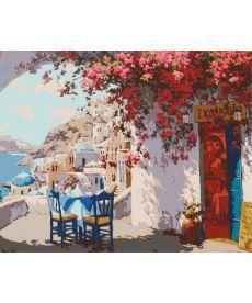 Картина по номерам Греческий полдень 40 х 50 см (KHO2180)