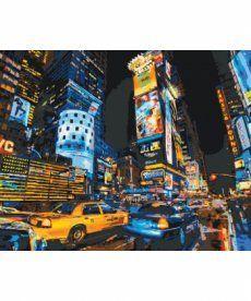 Картина по номерам Улицами Нью-Йорка 40 х 50 см (KHO2185)