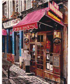Картина по номерам Рим. Уютный бар 40 х 50 см (KHO2195)